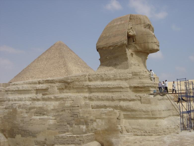 Pyramides de Gizeh et sphinx, Egypte