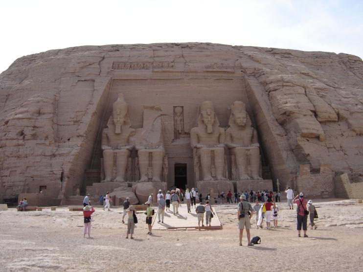 Temple d'Abu Simbel, Egypte