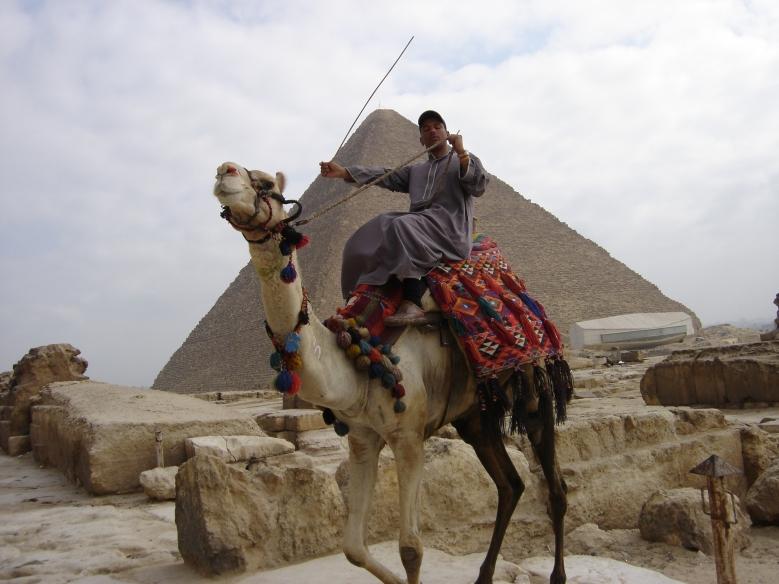 Pyramides de Gizeh, Egypte