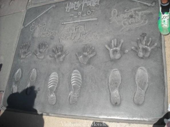 Harry Potter, Walk of fame sur Hollywood Boulevard à Los Angeles