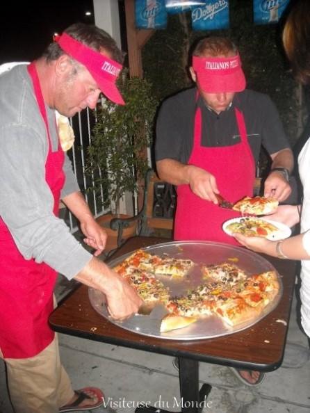 Pizza à Los Angeles