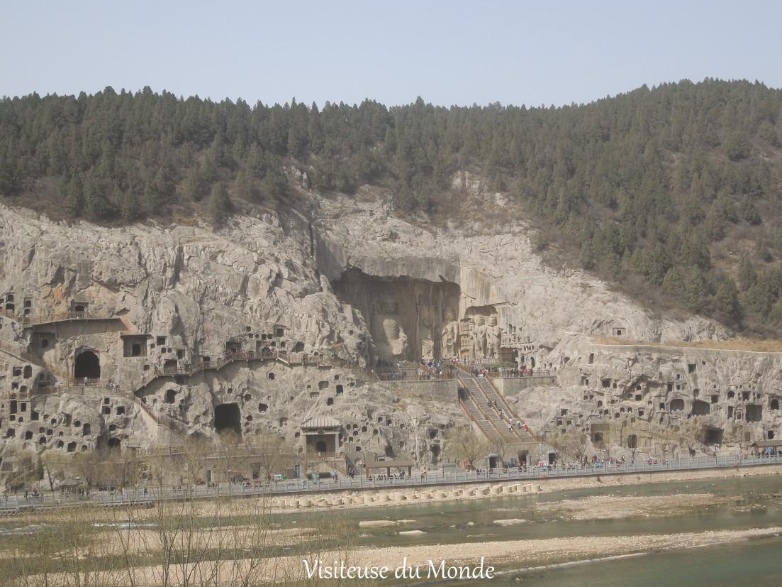 Grottes de Longmen, Chine