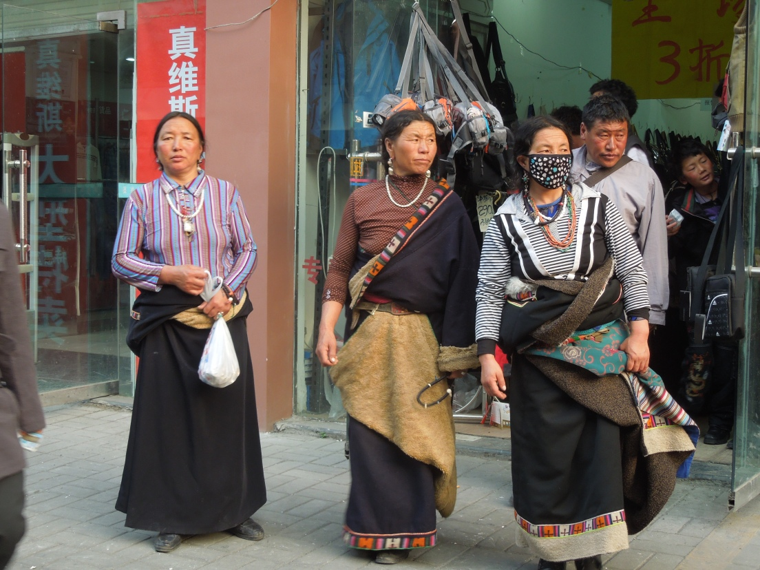 Quartier tibétain, Chengdu, Chine