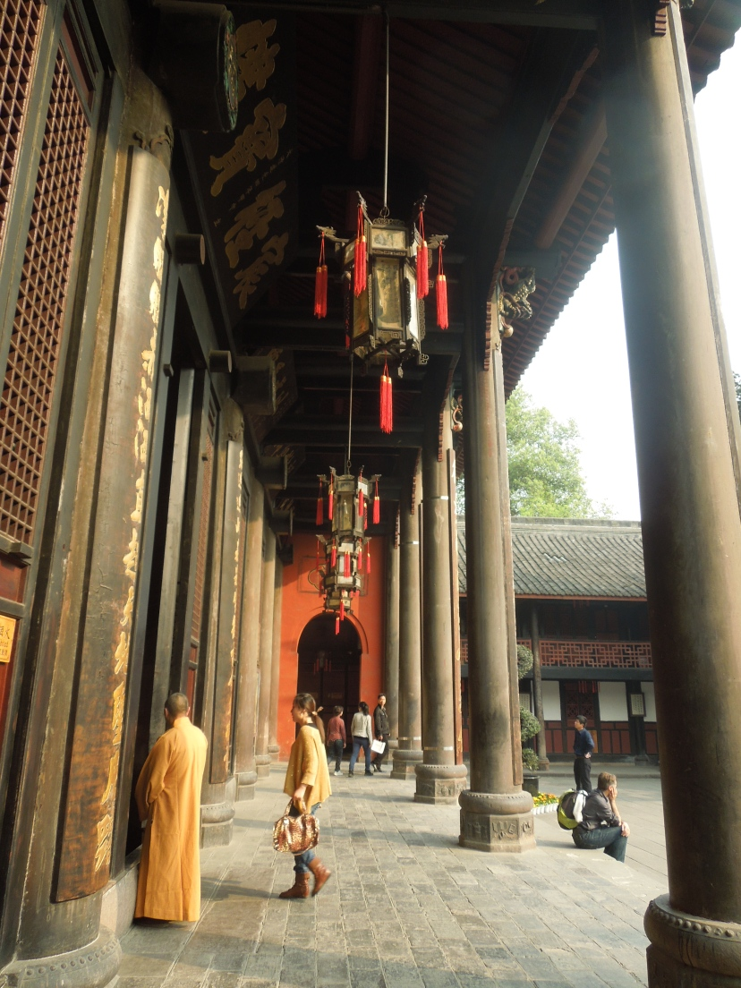 Monastère Wenshu, Chengdu, Chine