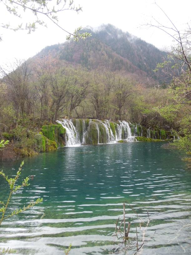 Jiuzhaigou, Arrow Bamboo Waterfall