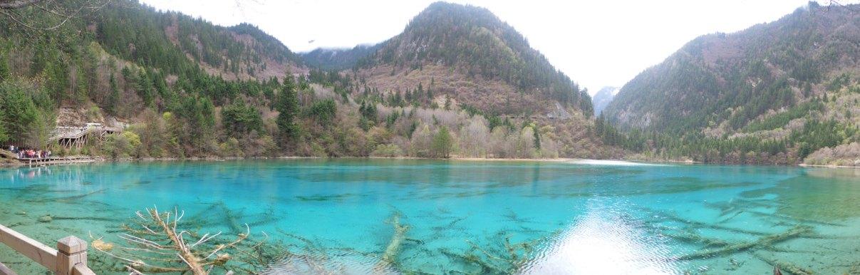 Jiuzhaigou, Five-colored Lake