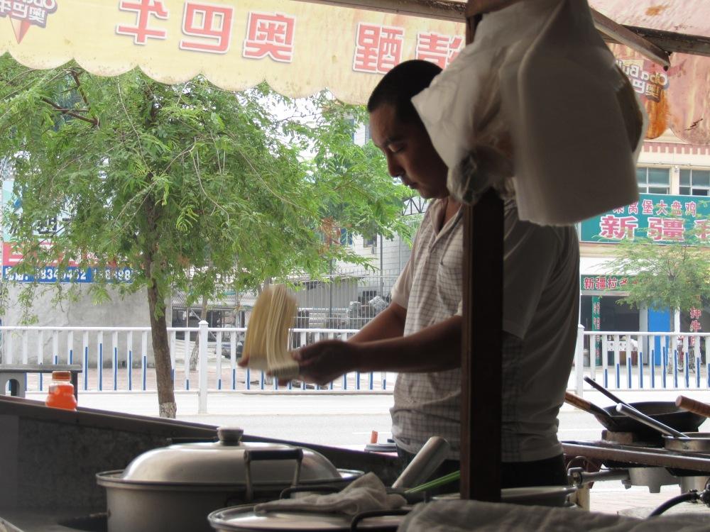 Pâtes fraiches à Sanya, Hainan, Chine