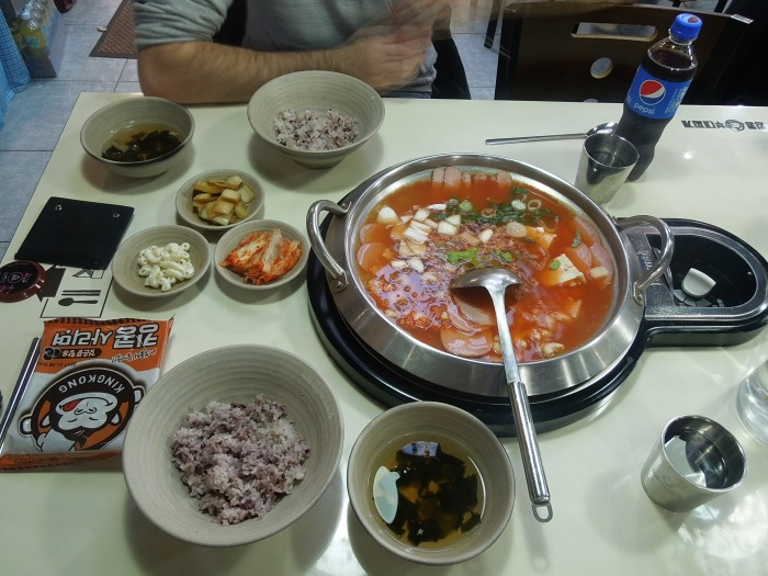 Fondue, Corée du Sud