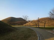Tumuli de Gyeongju, Corée du Sud