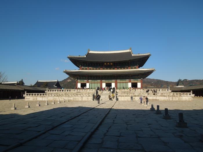 Palais Gyeongbok, Seoul, Corée du Sud