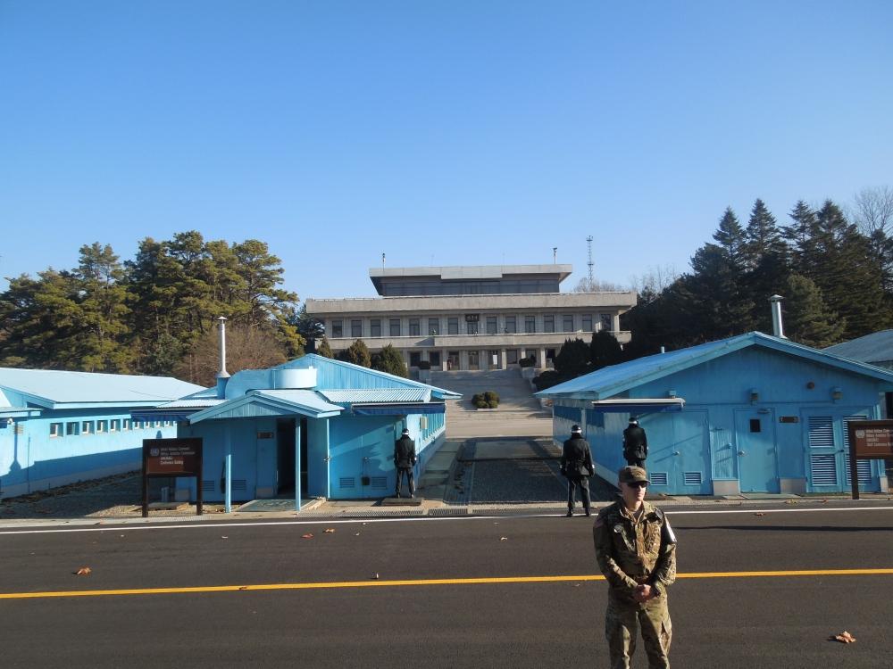 JSA, DMZ, Corée