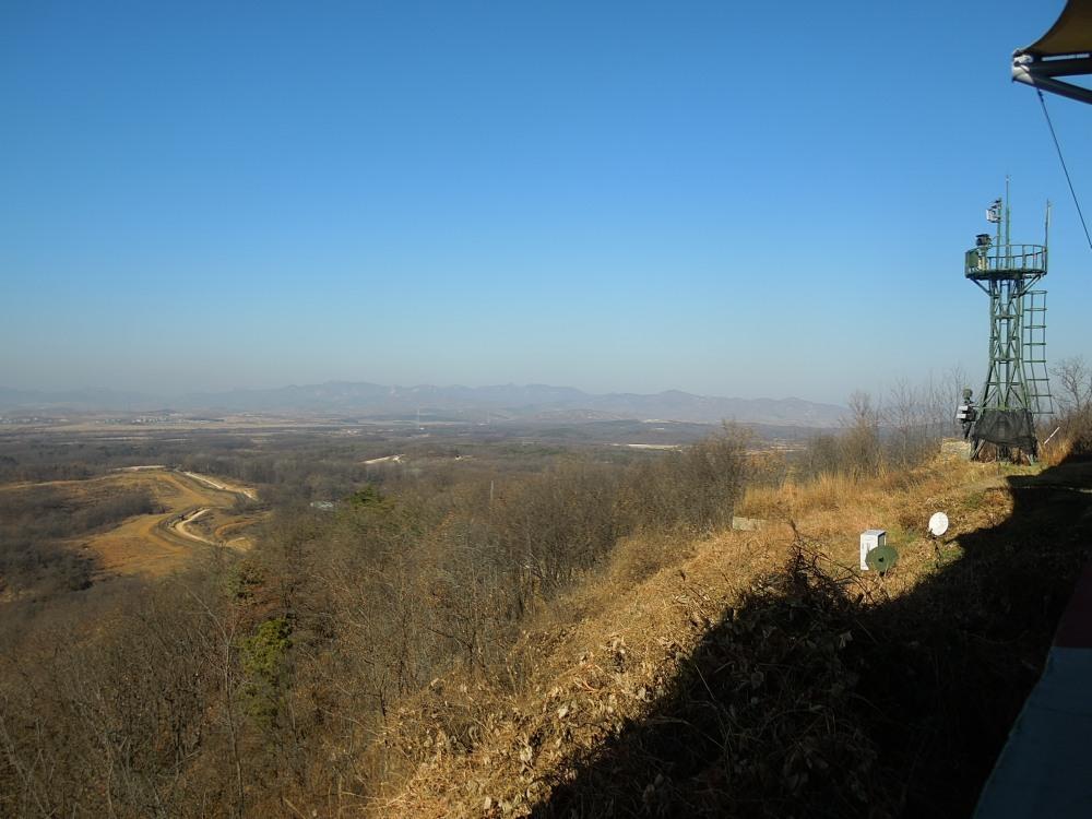 Observatoire Dorasan, DMZ, Corée