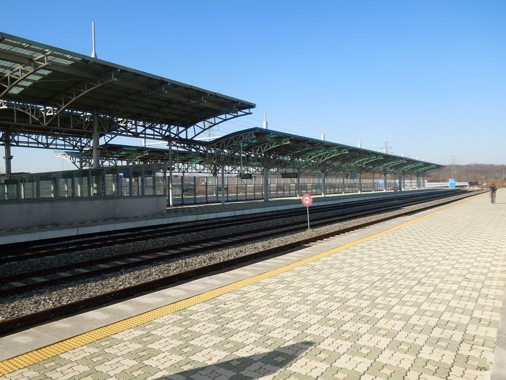 Dorasan Station, DMZ, Corée