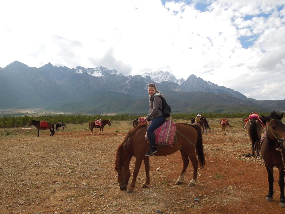 Plaine de la montagne des nuages, Lijiang, Yunnan, Chine