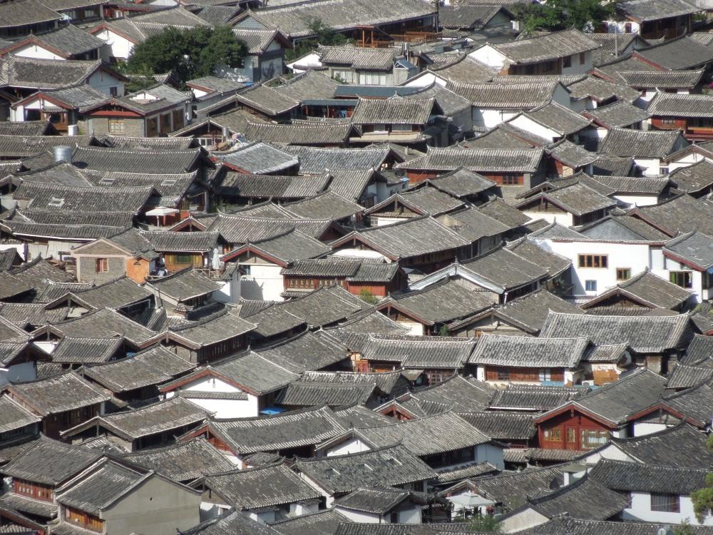 Pagodes des  10 000 ans, Lijiang, Yunnan, Chine