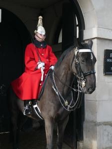 Garde équestre, Londres, Angleterre