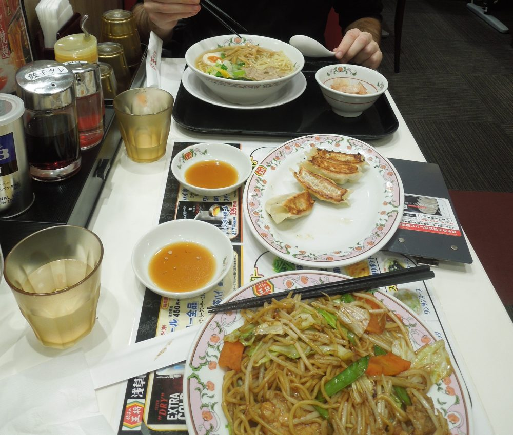 Ramen et gyoza à Tokyo
