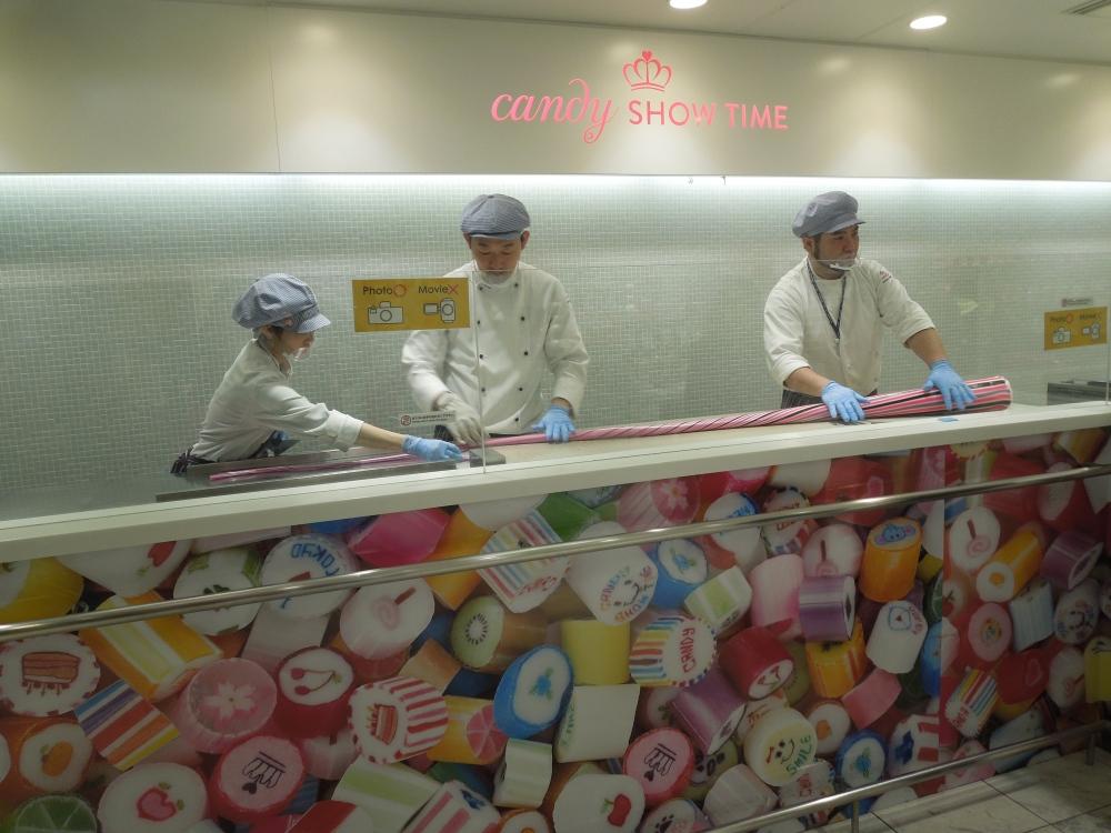 Confection de bonbons à Tokyo, Candy Show Time