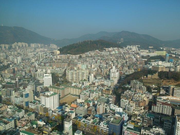 Busan tower, Corée du Sud