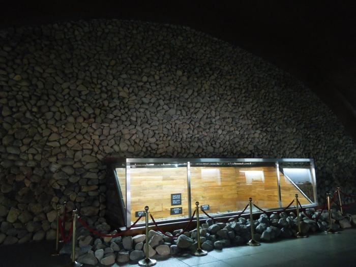 Corée, Gyeongju, Tumuli intérieur