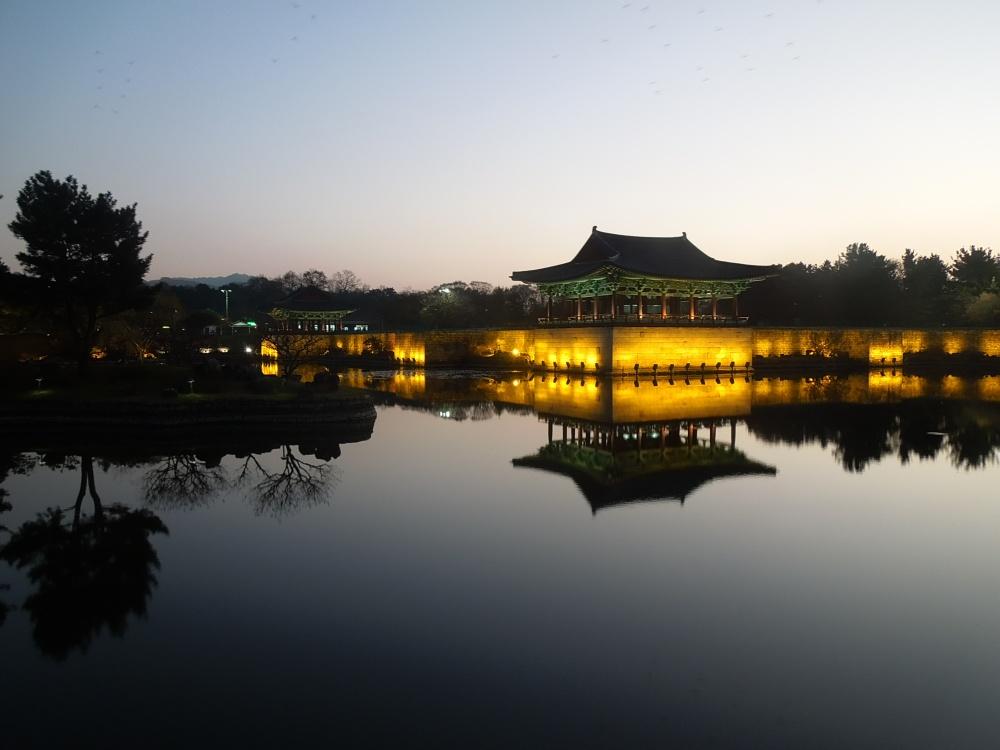 Corée, Gyeongju, Etang Anapji
