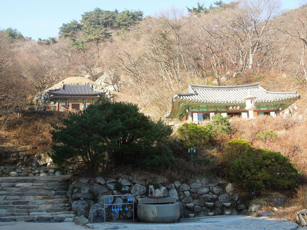Corée, Gyeongju, Grotte Seokguram