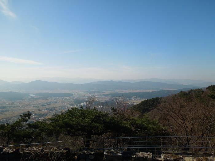 Corée, Gyeongju, Grotte Seokguram vue