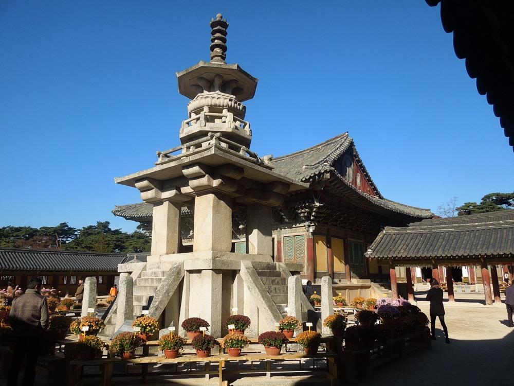 Corée, Gyeongju, Temple Bulguksa