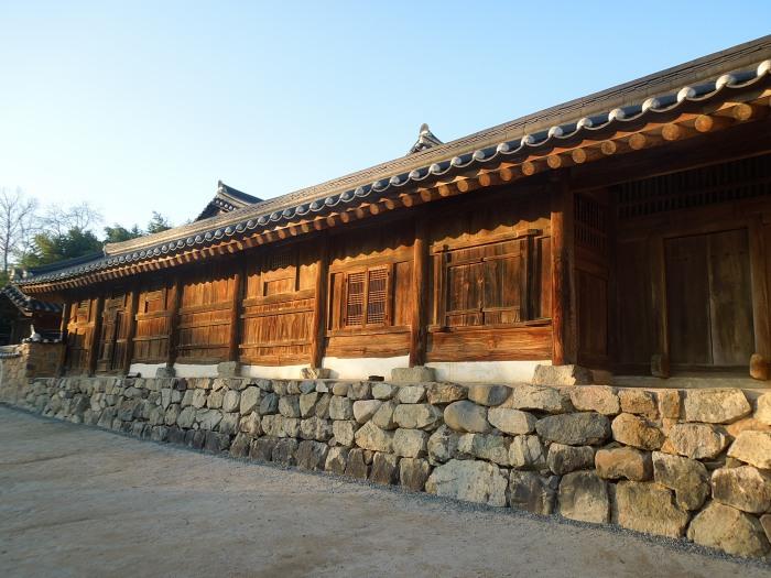 Corée, Gyeongju, Yangdong folk village