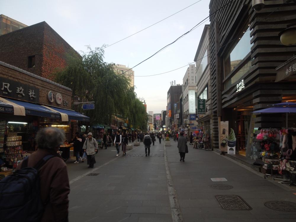 Séoul, Insadong