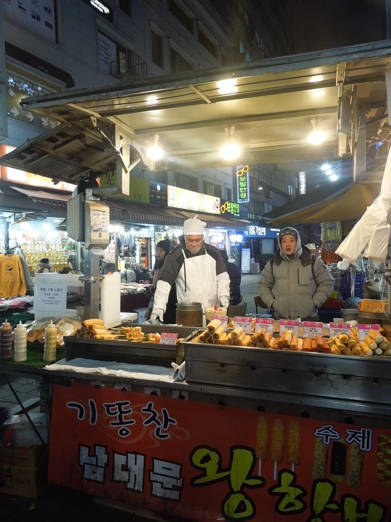 Séoul, Marché Namdaemun