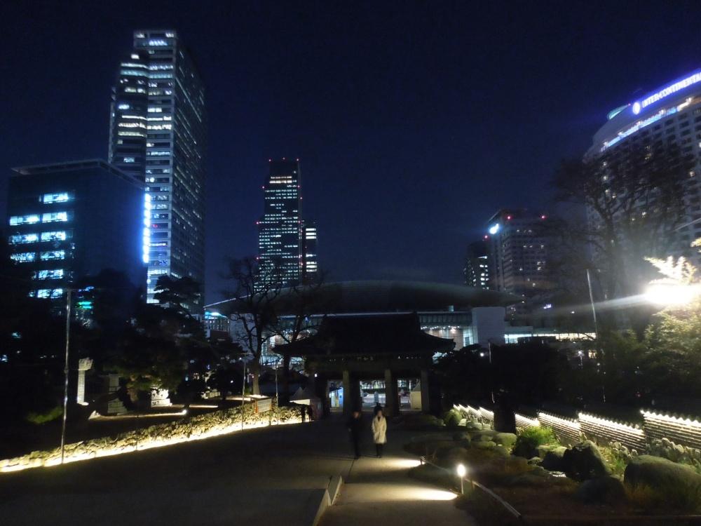 Séoul, Temple Bongeun-sa