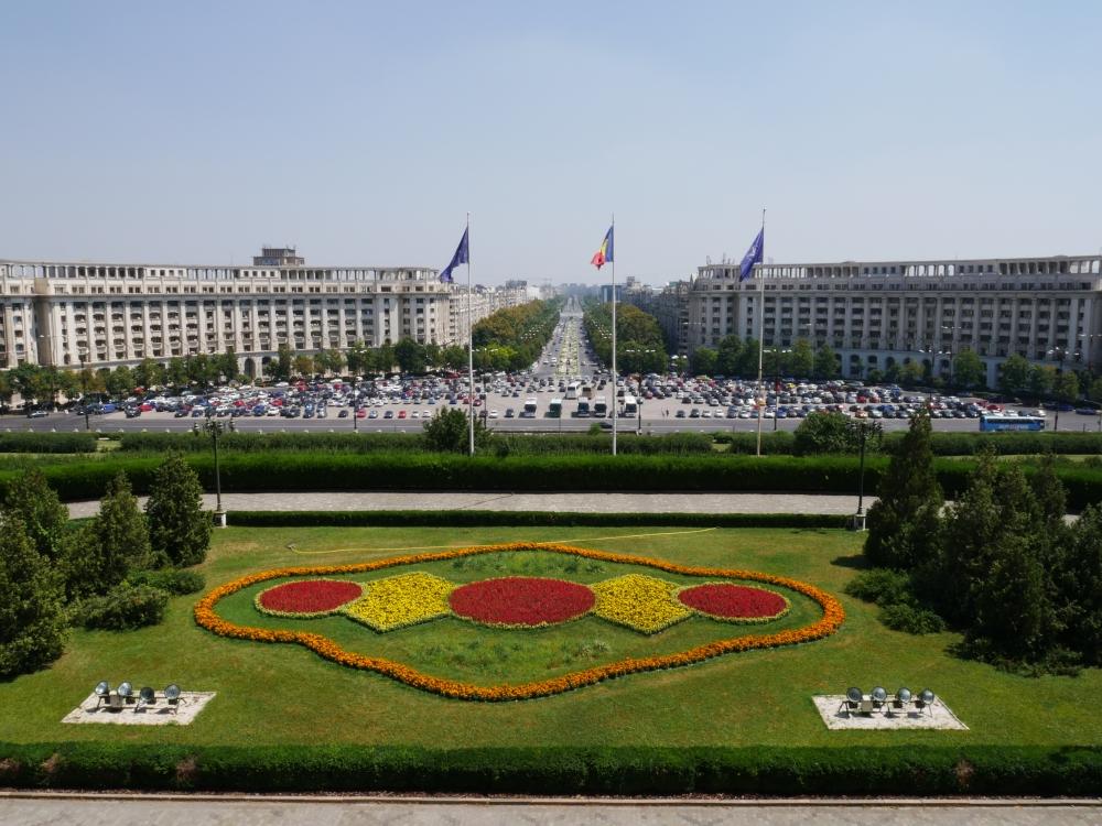 Roumanie, Palais du Parlement