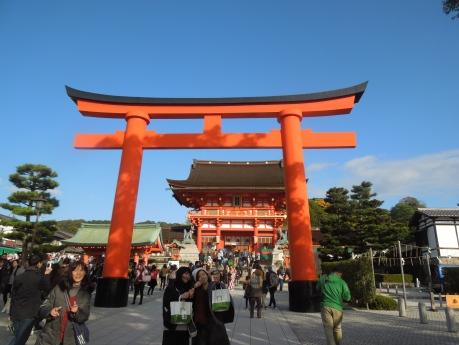 Kyoto, Sancutaire Fushimiinari-taisha