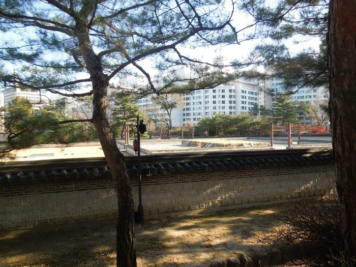 Séoul, Inwangsan, Parc Sajik
