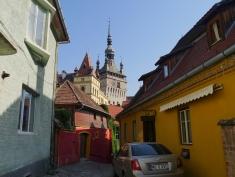 Roumanie, ruelles de Sighișoara