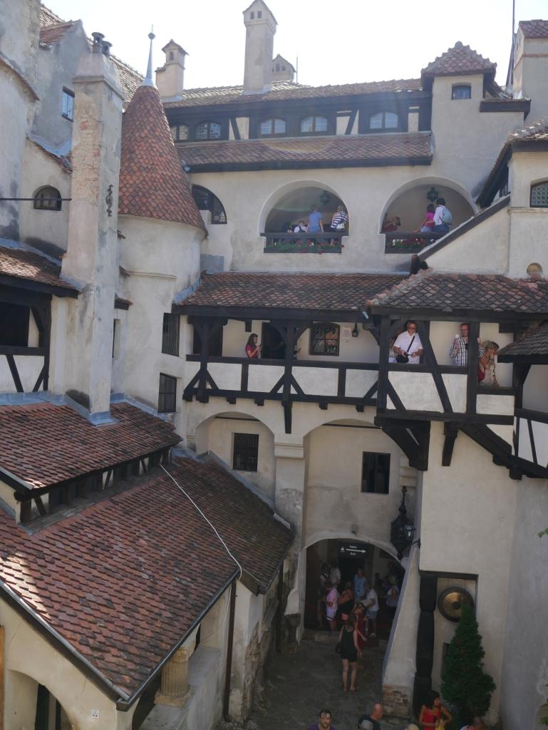 Cour intérieure du Château de Bran