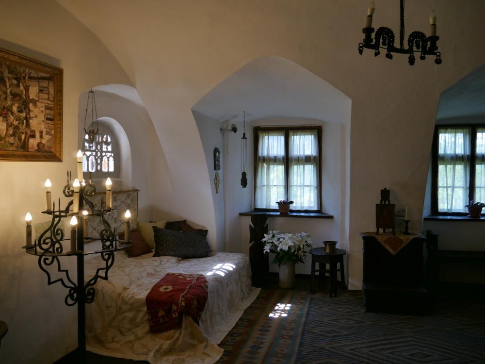 Les intérieurs du Château de Bran