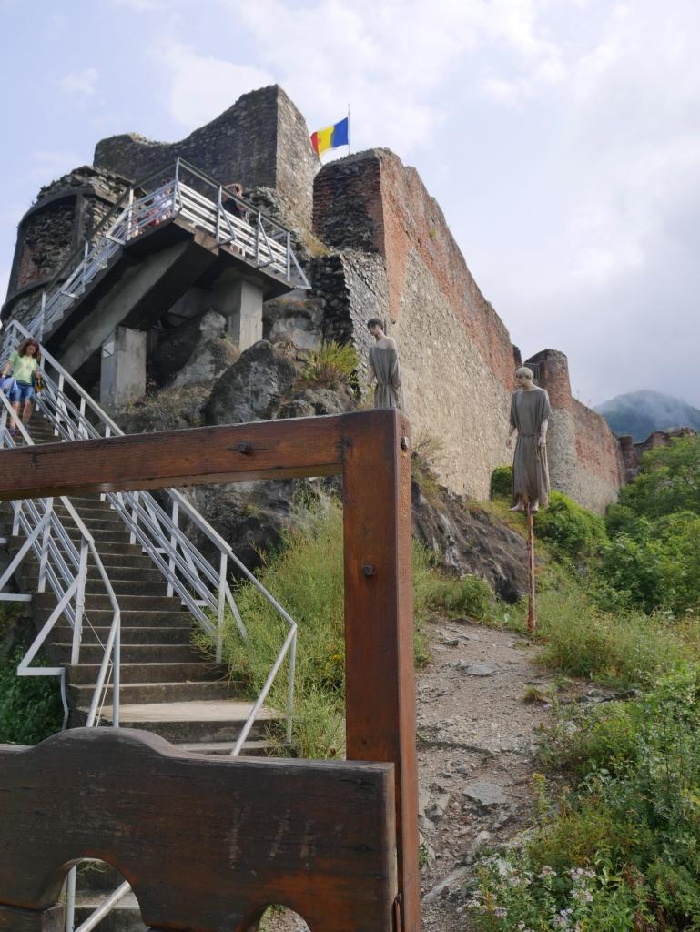 Roumanie, Citadelle de Poenari