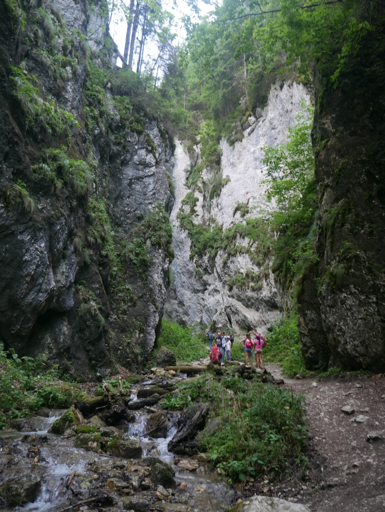 Roumanie, Canyon des 7 marches