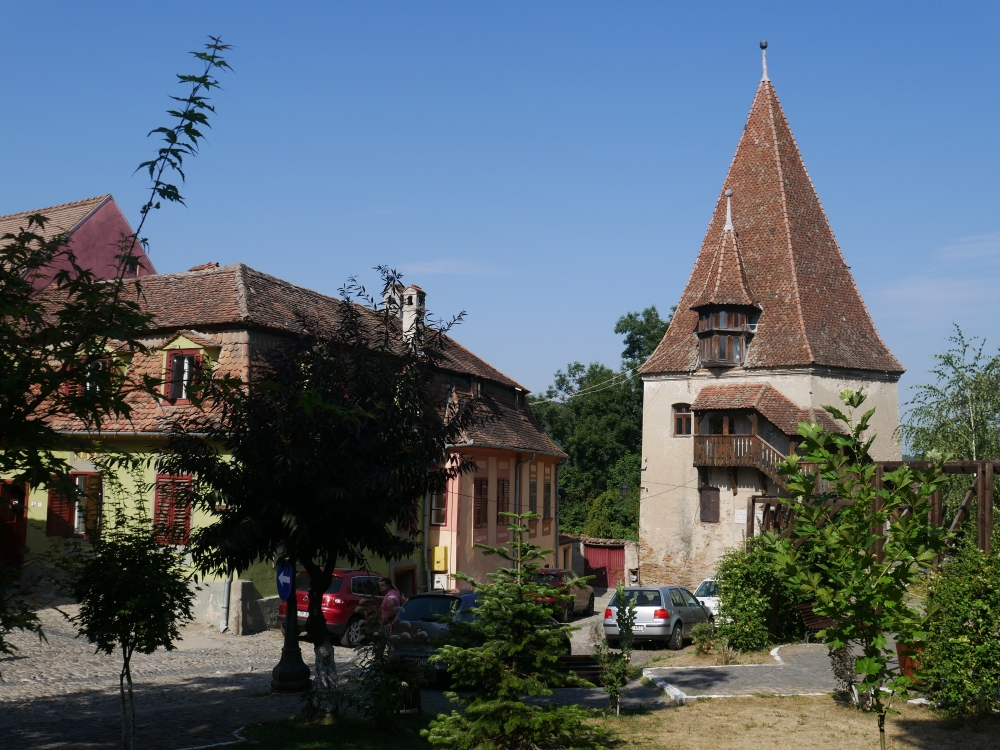 Roumanie, Sighișoara, Tour des bottiers