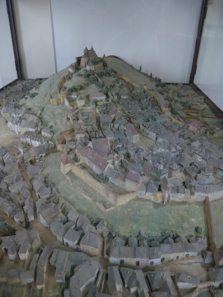 Roumanie, Sighișoara, Musée de la tour de l'horloge