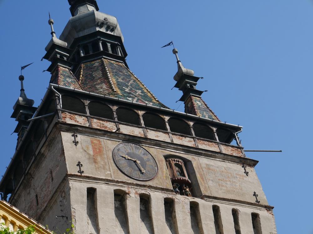 Roumanie, Sighișoara, Tour de l'horloge