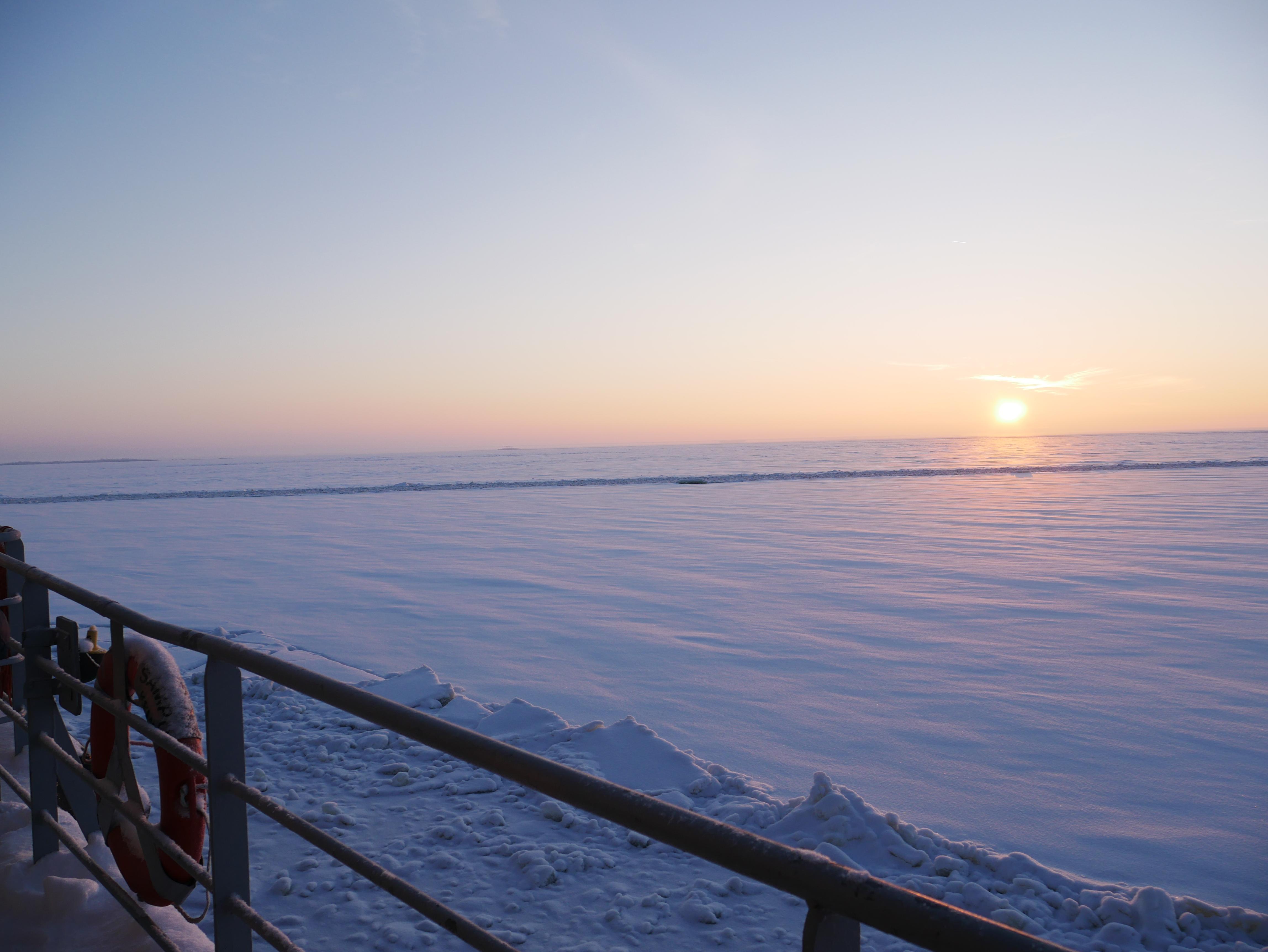 Laponie - Croisière Sampo - Lever de soleil