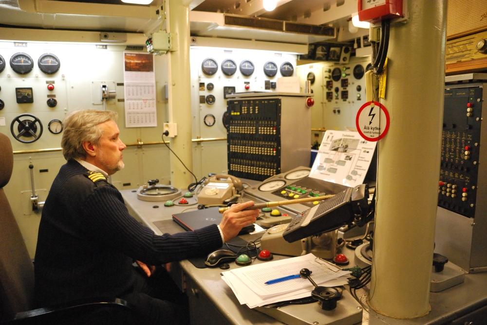Laponie - Croisière Sampo - Salle de contrôle