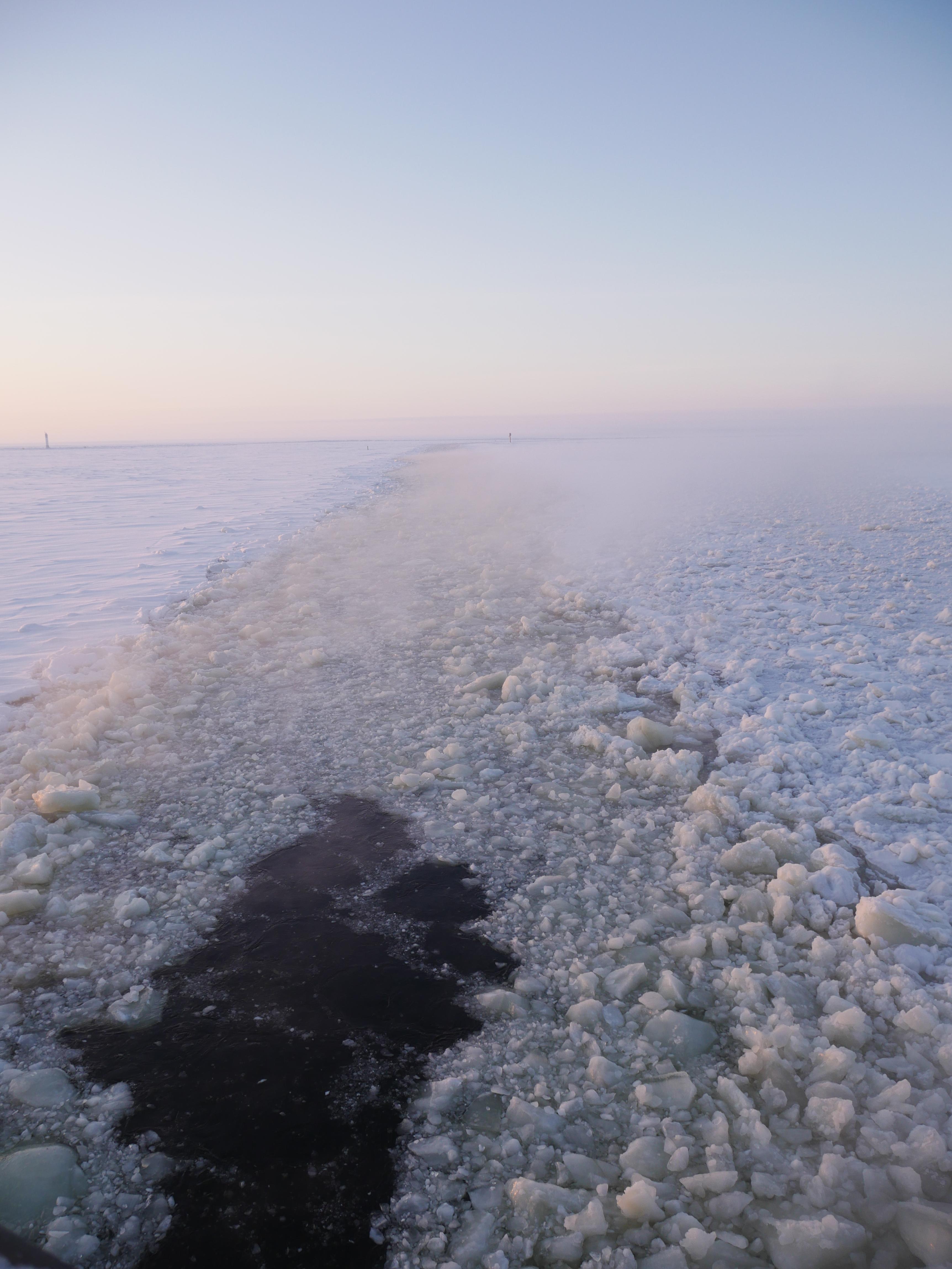 2019-02-Laponie - Croisière Sampo - la banquise