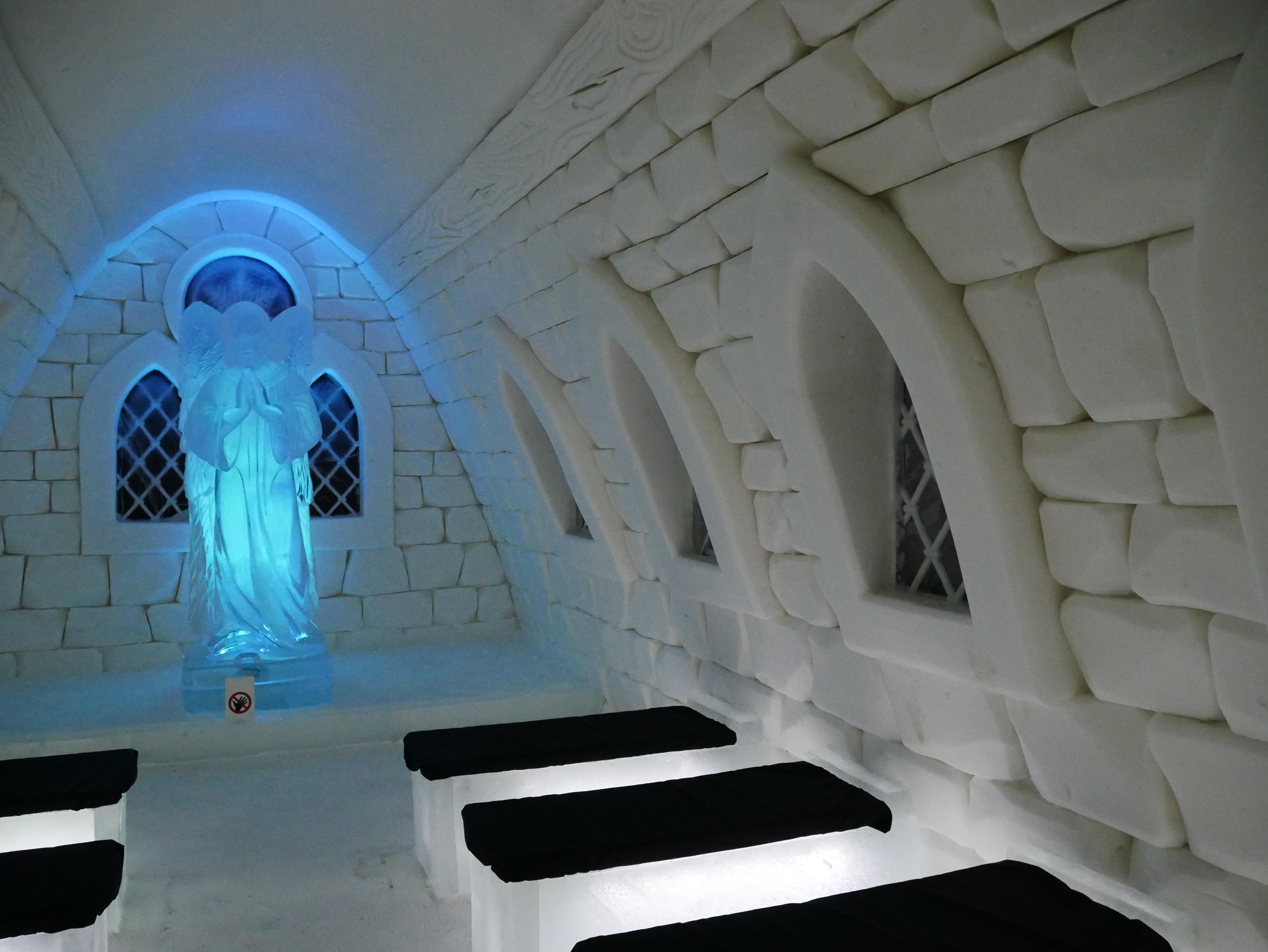 Laponie - Kemi - Snow Castle chapel