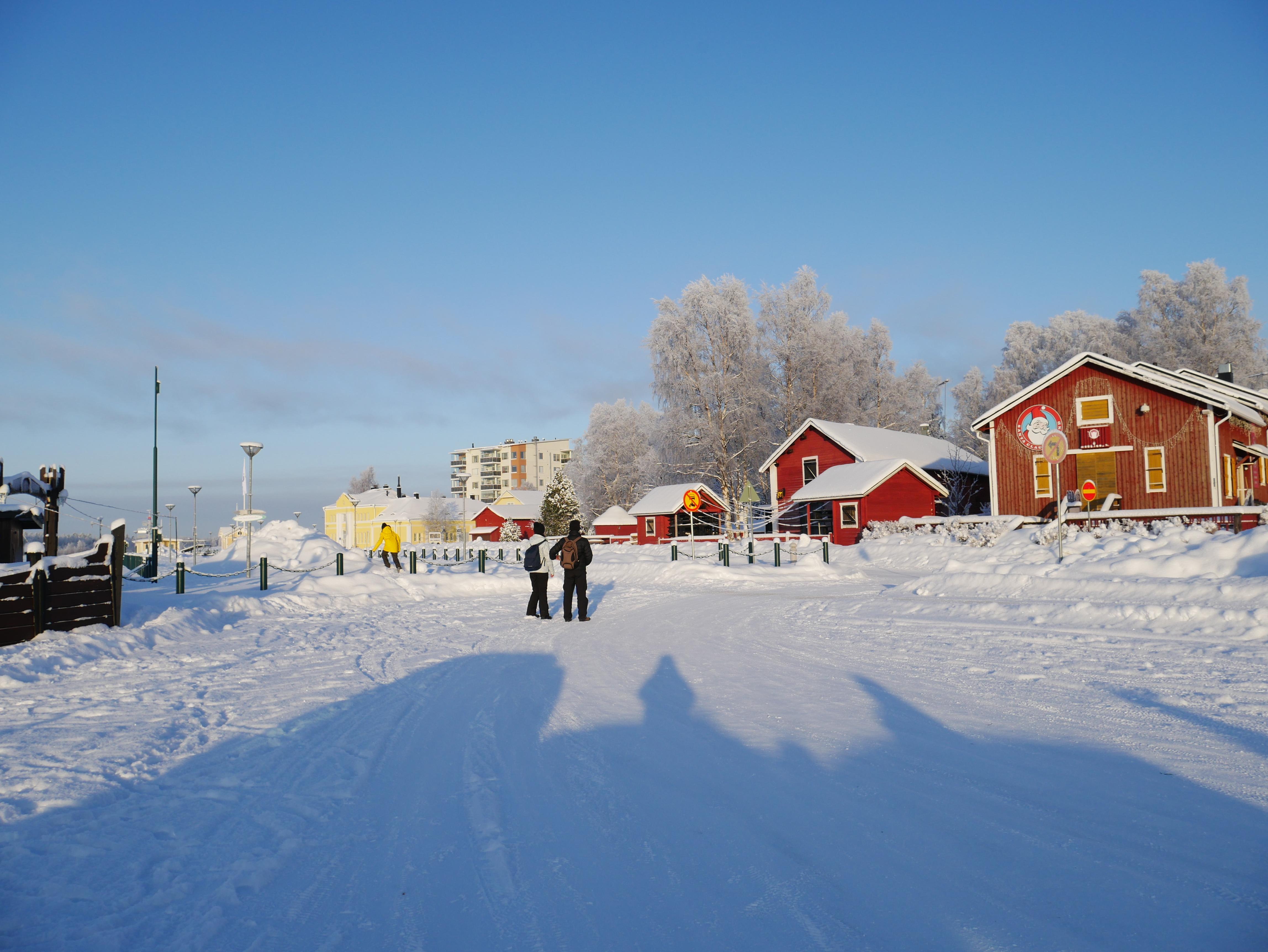 Laponie - Kemi quais