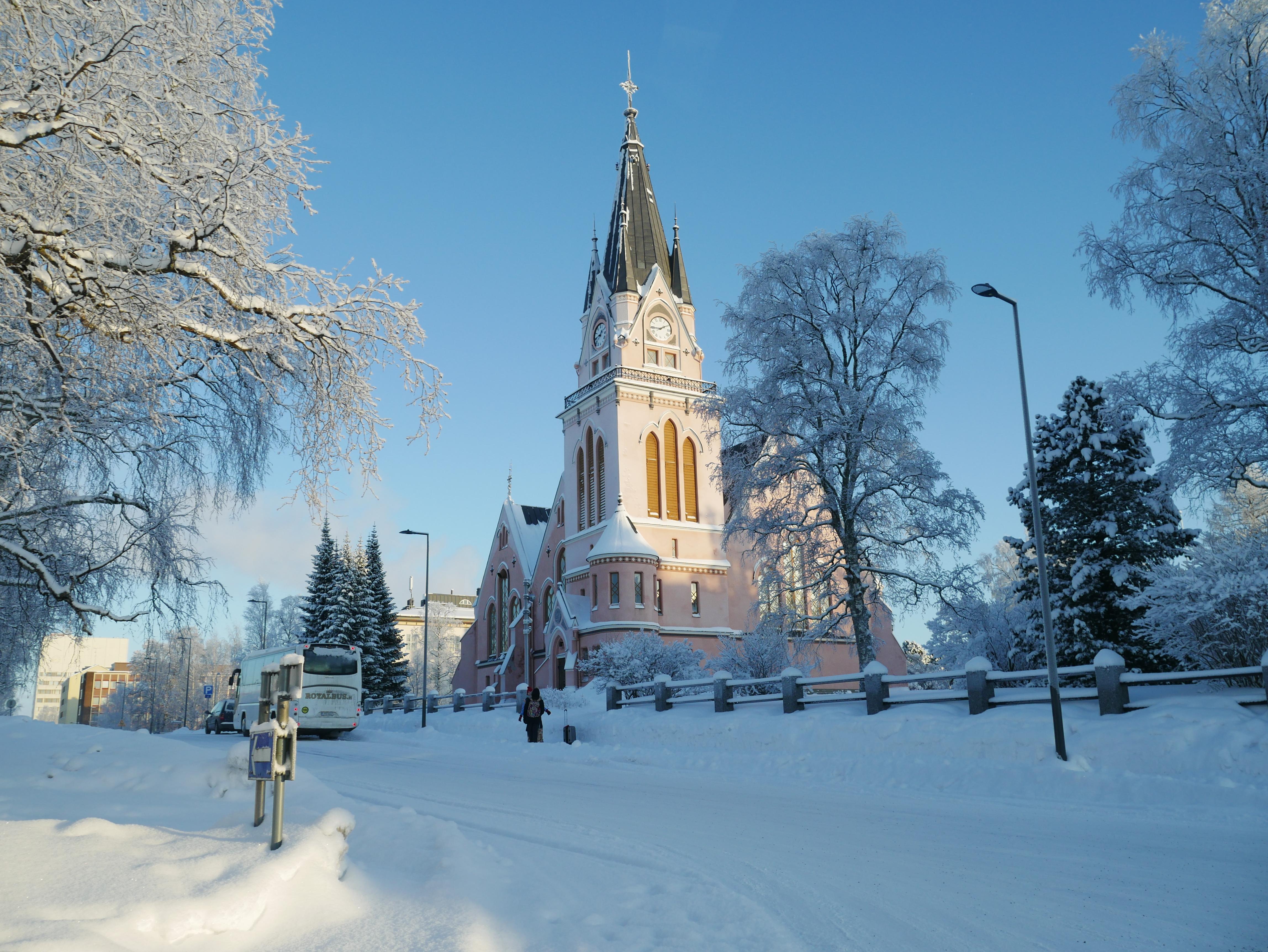 Laponie - Kemi église