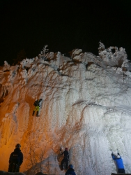 Laponie - Ice climbing